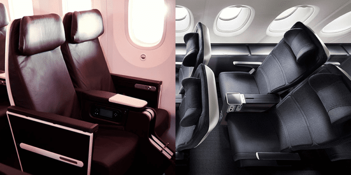 Premium Economy Seatings
