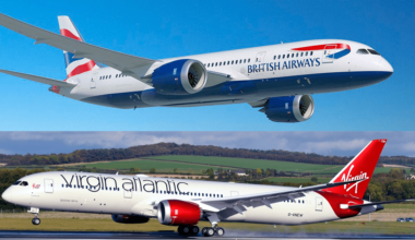 British Airways Virgin Atlantic
