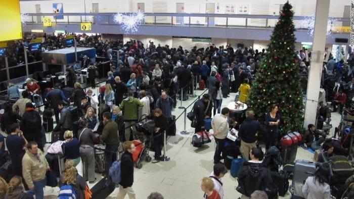 Heathrow Crowds