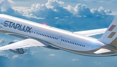 Starlux orders in Airbus planes for its new fleet