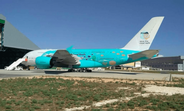 New Hi Fly-A380 Livery announcement at Farnborough air show