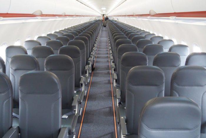 Easyjet A321neo aisle