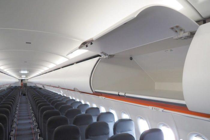 Easyjet A321neo bins