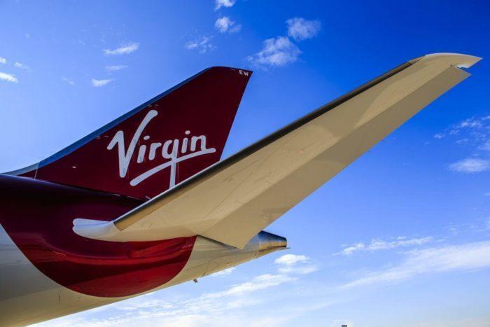 Virgin Atlantic Airplane