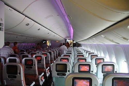 Virgin Australia 777 Map.Virgin Australia Premium Economy Los Angeles To Sydney Review