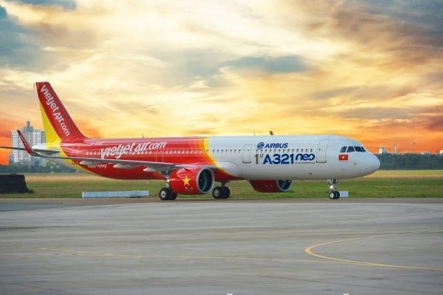 Vietjets fiA321neo aircraft vietjet
