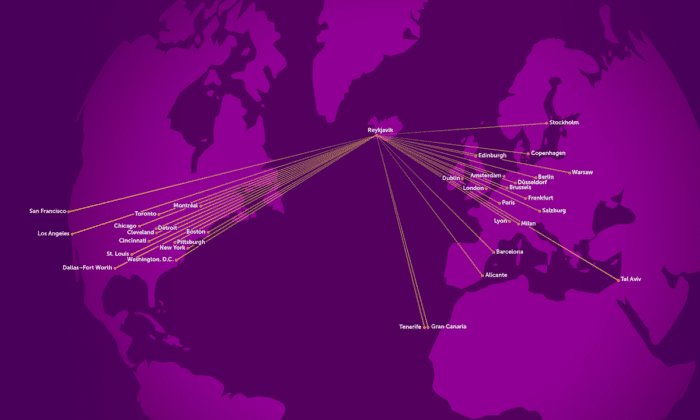 WOW Air Routemap