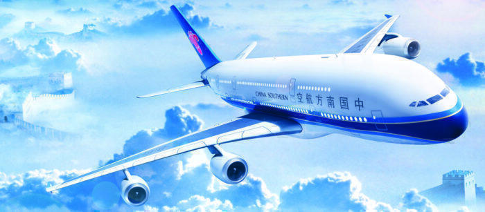 China Southern number of aircraft