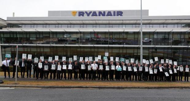 Ryanair cabin crew strike
