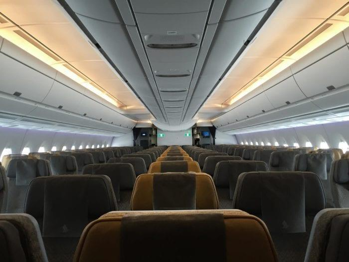 Inside Singapore Airlines' A350 seating