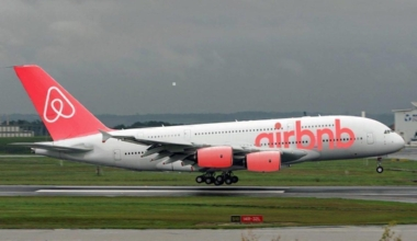 Airbnb Airlines A380