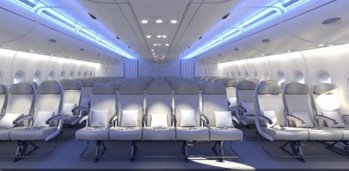 Could Amedeo operate a 3-5-3 ultra dense cabin on their A380's?