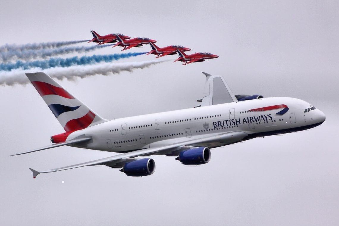 Its not just on British Airways forecast