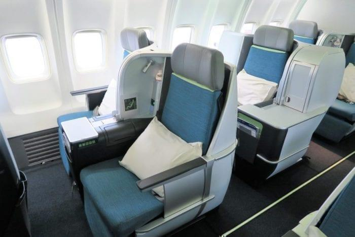Aer Lingus B757 Business Class Seat