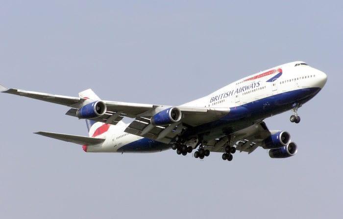 B747-400 BA