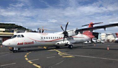 Air Tahiti ATR Aircraft