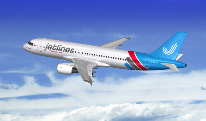 Jetlines proposed livery on an A320.