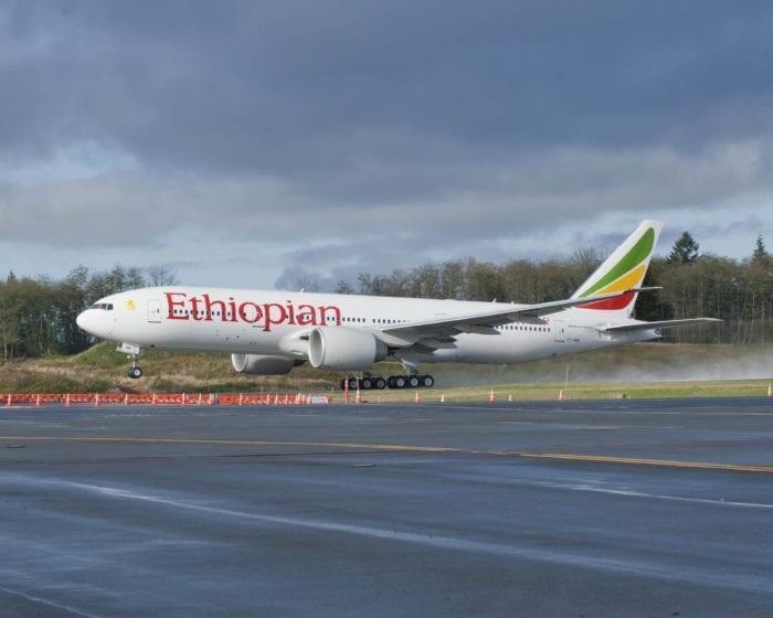 Ethiopian B777
