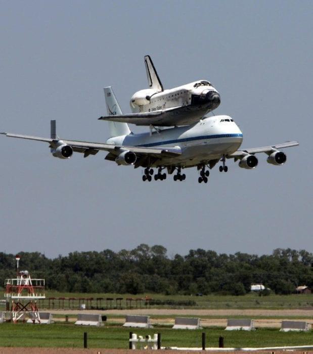 The 747 - Actually, a pretty versatile machine.