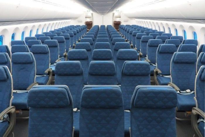 Korean Air 787-9 Economy