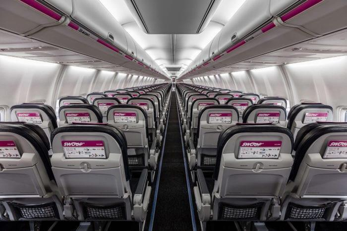 Swoop Airlines Interior