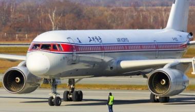 Air Koryo Taxiing