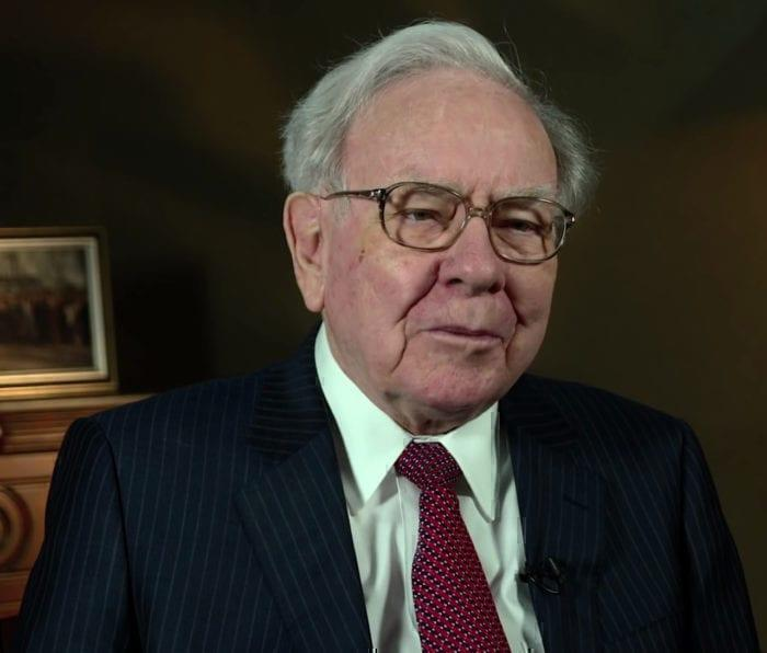 Warren Buffett at a 2015 summit.