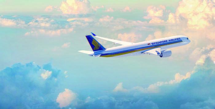 singapore airlines a350lr