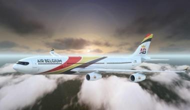 Air Belgium Sunset