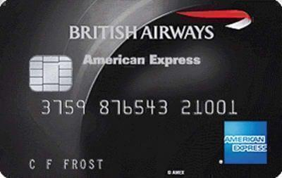 best uk points card BA Amex