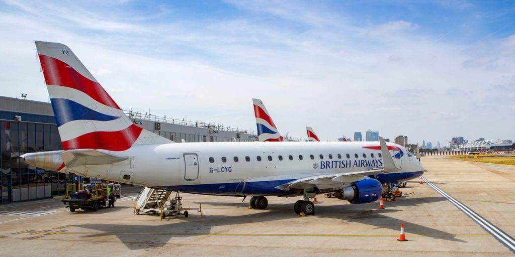 British Airways fuselage