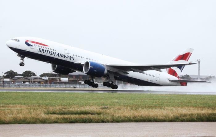 BA 777 Takeoff