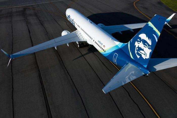 Alaska Airlines new livery