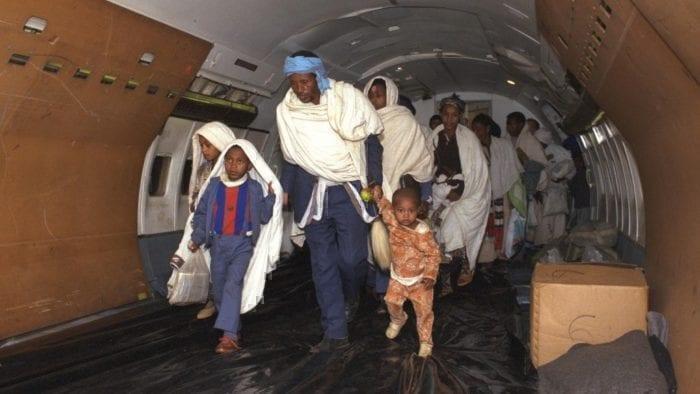 Inside a humanitarian lift
