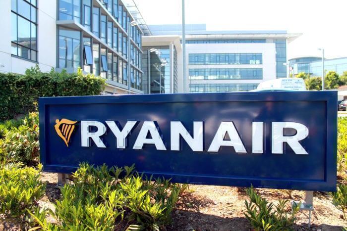 Ryanair Head Office Logo