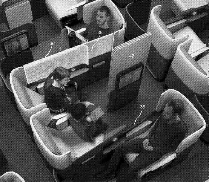 BA A350 Club World with direct aisle access.