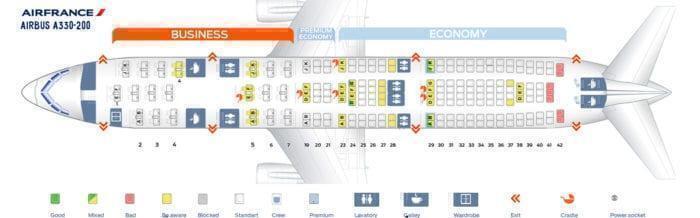 Air France award availability