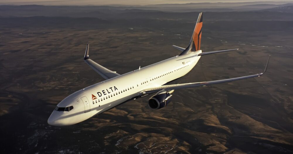 Delta Boeing 737-900ER Aircraft
