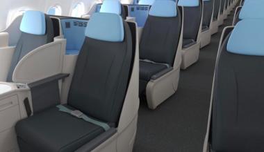 la-compagnie-a321-business-class la compagnie a321 la compagnie seats la compagnie