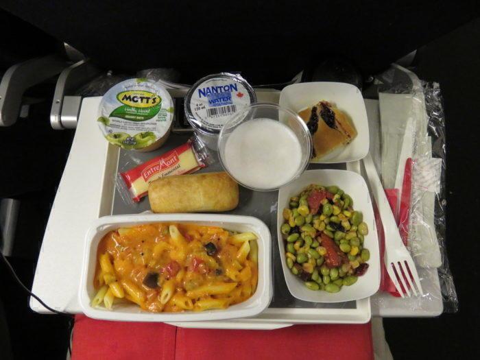 air france economy long haul food