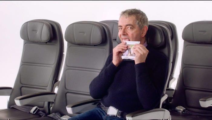 Mr Bean on BA