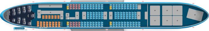 747 Combi Seat Plan