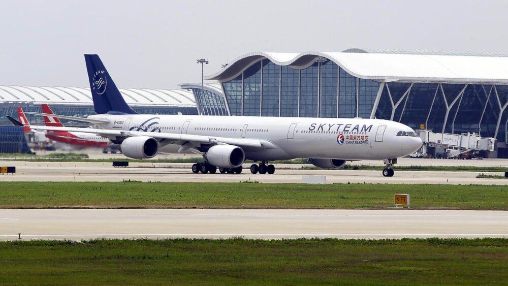 SkyTeam Plane