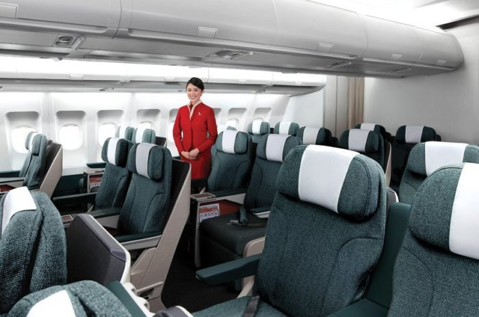 new business class seats