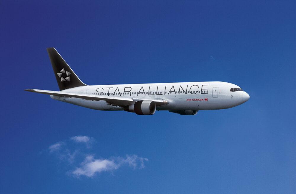 Star Alliance Plane