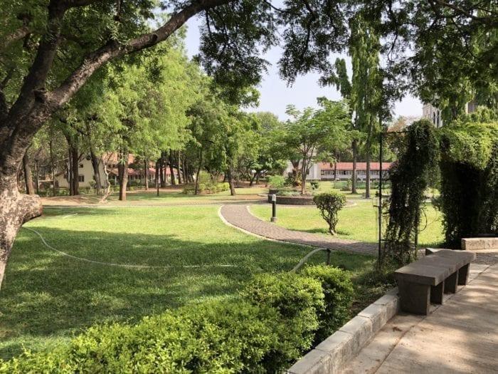 Aga Khan Palace gardens