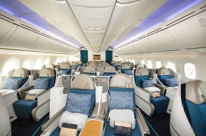 Air tahiti 787 business