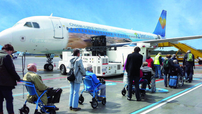 Airport mobility assistance