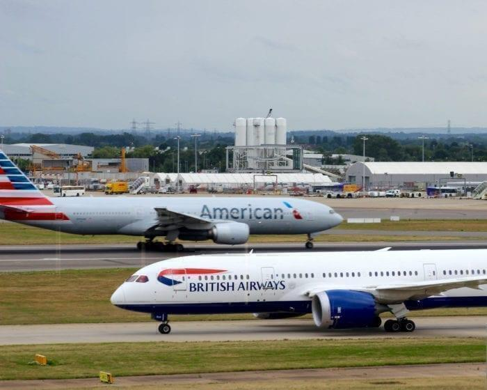 BA and American Airlines