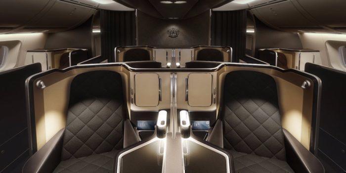 BA first class